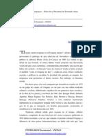 Presentación Cuentos Uruguays - Fernando Ainsa