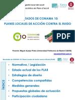 Planes de acción contra el ruido - Resultados CONAMA10 V2.0