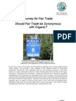 Should Fair Trade Be Synonomous With Organic