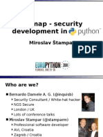 sqlmap - security development in Python