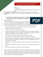 Rapport _ Atelier sur l'Etat des Lieux et de la Diagnostic de la Gestion de L'Aide Publique au Développement (APD) du Cameroun