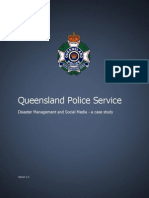 Queensland Police Service Disaster Management and Social Media - a case study