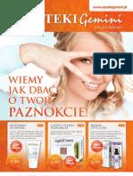 Gazetka Reklamowa Aptek Gemini Sierpień Wrzesień 2011