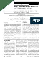 Desempenho de reator anaeróbio-aeróbio de leito fixo no tratamento de esgoto sanitário (2007)