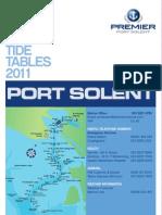 Port So Lent Marina Tide Tables 2011
