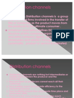 Distribution Channels Chp