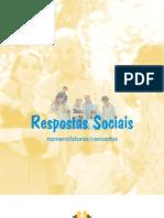 Respostas Socias da Segurança Social- Nomenclatura e Conceitos