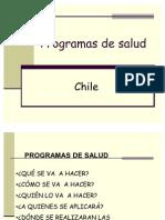 Programas de salud  ( 1)