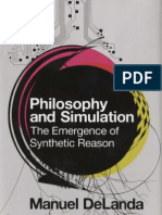 DeLanda, Manuel - Philosophy and Simulation. the Emergence of Synthetic Reason