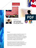 Malaysian Constitution