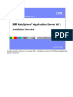 WASv61 Dist Install AppServer