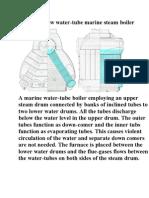 Yarrow Water Tube Steam Boiler