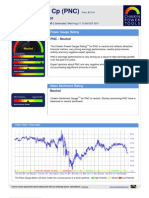 Stock Research Report for PNC as of 8/17/11 - Chaikin Power Tools