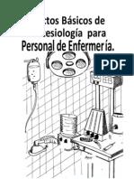 Anestesiología en enfermería.