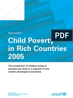 Innocenti Report Card 6 - Child Poverty in Rich Countries 2005