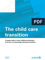 Innocenti Report Card 8 - The Child Care Transition