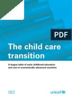 Innocenti Report Card 8 - The Child Care Transition
