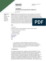 Hector Mora El Metodo Etnografico Origenes y Fundamentos