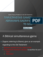 A Biblical Game