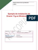 Oracle - Instalación de Oracle 11g en Windows Server 2008