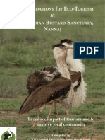 Eco Tourism at Great Indian Bustard Sanctuary, Maharashtra