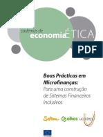 Boas Práticas em Microfinança - Ethical Savings