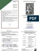 Bulletin 2011-08-21