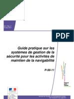Guide pratique sur les SMS - Organisme de maintien de la Navigabilité