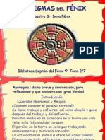 Apotegmas Del Fénix