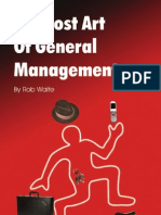 The Lost Art of General Management