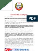 North Korean Central News Agency