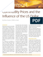 Commodity Prices and USD Jan06
