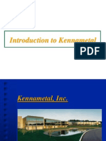 1.1 Introduction to Kennametal