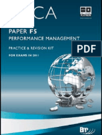F5 Performance Management BPP Revision Kit 2011