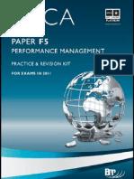 F5 Performance Management BPP Revision Kit 2011