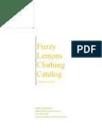 Clothing Winter 2011 Catalog