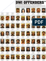 DWI Convictions May June July 2011