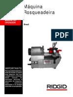 1210 Manual Rosqueadeira