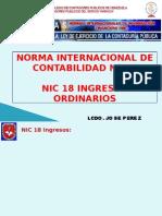 18 Nic-18 Ingresos Ordinarios