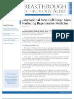 International Stem Cell Corp.