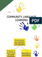COMMUNITY LANGUAGE LEARNING 2011
