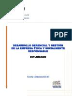 DIPLOMADO DESARROLLO GERENCIAL Y_GESTIÓN de EMPRESAS ETICA Y SOCIALMENTE_RESPONSABLE 2011 - copia