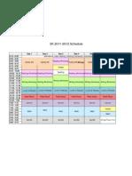 2011-12 5kschedule for parents