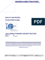 Isg-qp-cs-100 - Java Coding Standards and Best Practices
