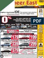 Pioneer East News Shopper, August 22, 2011