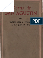 San Agustin - 14 Sobre El Evangelio de San Juan (36-124)