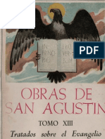 San Agustin - 13 Tratados Sobre El Evangelio de San Juan 01