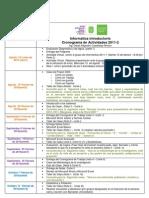 Cronograma Academico 2001-2