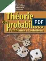 Theorie Des Probabilites