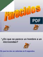 PARECIDOS (chistes feministas)